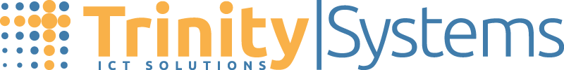 the logo of trinity systems